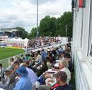 A section of the Chelmsford crowd, England Lions v Indians, Tour match, 2nd day,  Chelmsford, July 14, 2007
