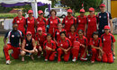 Hong Kong Women's Team (left to right) Back row: Jenny Hochstetter (physio), Georgina Chiu Chalmers, Kylie Knott, Sarah Eames, Renee Montgomery, Keenu Gill, Sam McIlwraith, Mark Burns (Team Manager) Middle row: Emma Philips (wkt), Olivia Rae (Assistant Coach), Kristine Wong Front row: Lal Jayasinghe (Team Coach), Neisha Pratt (Captain), Godiva Li, Betty Chan, Ishitaa Gidwani, Chan Sau Ha, Kaori Iida  - ACC Women's Cricket Tournament, 17.07.2007