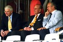 John Major, Prince Philip and Ted Dexter watch the action on the field, England v India, 1st Test, Lord's, 1st day, July 19, 2007