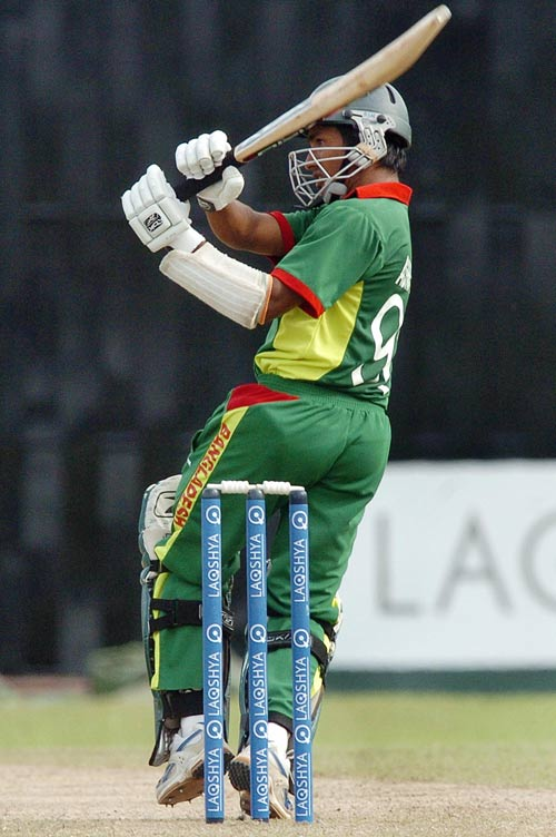 Ashraful tasted first win as International captain