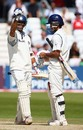 Rahul Dravid and Sourav Ganguly took India through to the target, England v India, 2nd Test, Trent Bridge, 5th day, July 31, 2007