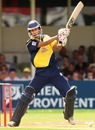 Kadeer Ali plays the supporting act to Craig Spearman with an unbeaten 33, Gloucestershire v Lancashire, Twenty20 Cup, 1st semi-final, Edgbaston, August 4, 2007