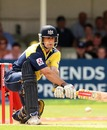Craig Spearman reverse-sweeps fearlessly during his match-winning 86, Gloucestershire v Lancashire, Twenty20 Cup, 1st semi-final, Edgbaston, August 4, 2007