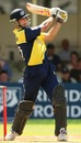 Craig Spearman bludgeons one over midwicket, Gloucestershire v Lancashire, Twenty20 Cup, 1st semi-final, Edgbaston, August 4, 2007