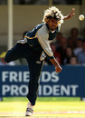 Lasith Malinga picked up three wickets