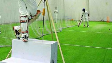 Indoor nets at the NCA