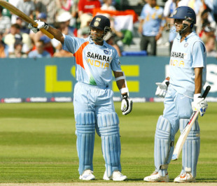 Sachin Tendulkar and Sourav Ganguly scored more ODI runs in partnership than any other pair