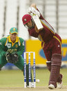 Ricardo Powell batting during his quickfire 49, South Africa v West Indies, 5th ODI, Johannesburg, February 4, 2004