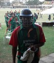 Alok Kapali is all smiles after Bangladesh completed a five-wicket win, Kenya v Bangladesh, 2nd match, Twenty20 Quadrangular Tournament, Nairobi, September 1, 2007