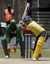 Nandi Patel scored an unbeaten 32 off 29 balls, Kenya v Uganda, 3rd match, Twenty20 Quadrangular, Nairobi, September 2, 2007