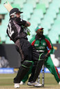 Brendon McCullum pulls during his 16, New Zealand v Kenya, Group C, ICC World Twenty20, September 12, 2007
