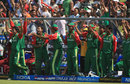 Bangladesh celebrate their victory against West Indies, Bangladesh v West Indies, Group A, ICC World Twenty20, Johannesburg, September 13, 2007