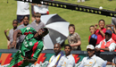 Tony Suji fails to hold on to a catch as Kenya put on a listless fielding display, Kenya v Sri Lanka, Group C, ICC World Twenty20, Johannesburg, September 14, 2007