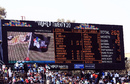 The electronic scoreboard displays Sri Lanka's record total, Kenya v Sri Lanka, Group C, ICC World Twenty20, Johannesburg, September 14, 2007