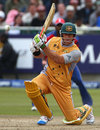 Matthew Hayden hammers another four on his way to 67*, Group B, ICC World Twenty20, Cape Town, September 14, 2007