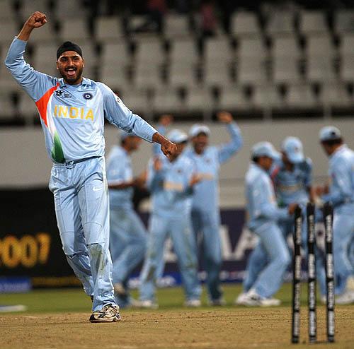 Image result for harbhajan t20i 2007
