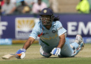 Mahendra Singh Dhoni is run out despite a desperate dive, India v New Zealand, Group E, ICC World Twenty20, Johannesburg, September 16, 2007