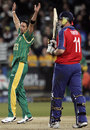 Johan van der Wath removes Andrew Flintoff , Group E, ICC World Twenty20, Cape Town, September 16, 2007