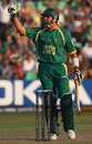 Justin Kemp celebrates South Africa's victory, South Africa v New Zealand, Group E, ICC World Twenty20, Durban, September 19, 2007