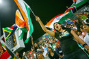An Indian fan shows support for the side, India v South Africa, Group E, ICC World Twenty20, Durban, September 20, 2007
