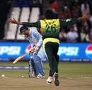 Mohammad Asif cleans up Virender Sehwag, India v Pakistan, Group D, ICC World Twenty20, Durban, September 14, 2007