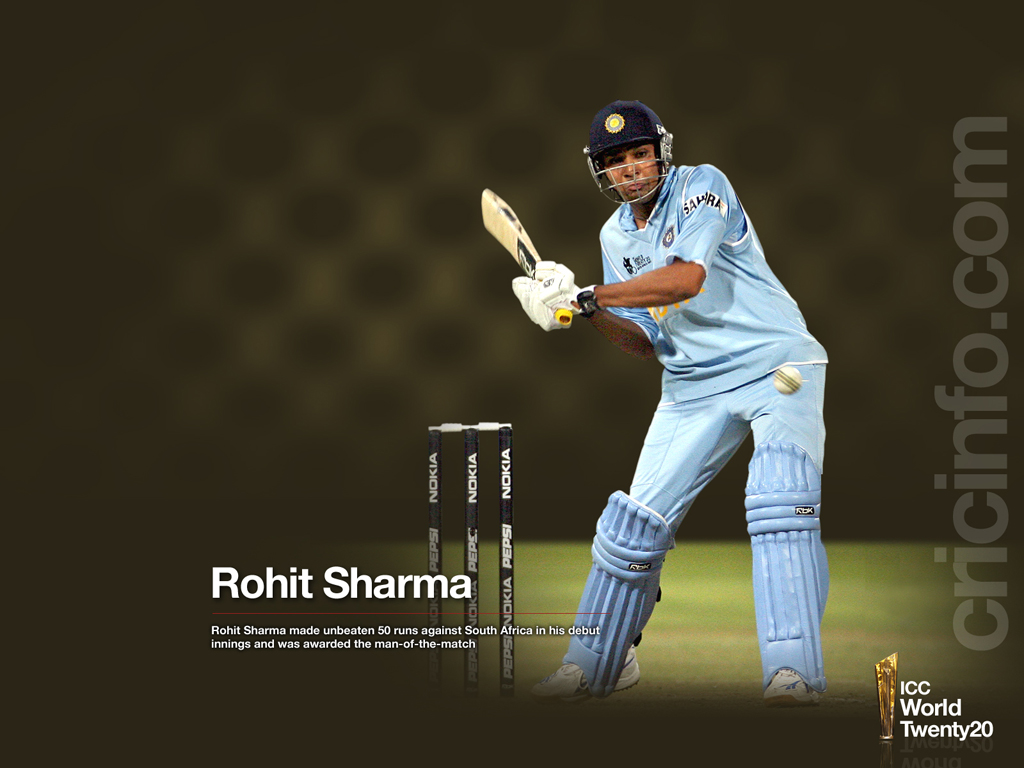 Rohit Sharma produced an excellent debut innings
