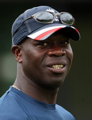 A portrait of Ottis Gibson, England's stand-in bowling coach, Colombo, September 28, 2007