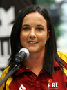 Kirsten Pike of Queensland at the 2007-08 interstate cricket launch