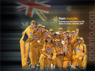 Team Australia with the Future Cup