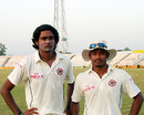 Mahbubul Alam (left) and Mohammad Sharif were instrumental in making Sylhet follow-on, Dhaka v Sylhet, National Cricket League, October 27, 2007