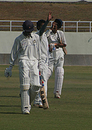 Saurashtra's Sagar Jogiyani walks back to the pavilion, Himachal Pradesh v Saurashtra, Ranji Trophy Super League, Group A, 1st round, 1st day, Dharamsala, November 3, 2007