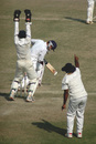 Wicketkeeper MSK Prasad appeals in vain for an lbw decision against Pankaj Dharmani, Punjab v Andhra, Ranji Trophy Super League, Group B, 1st round, 3rd day, Amritsar, November 5, 2007