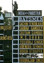 The Green Park scoreboard is spruced up for the India-Pakistan ODI, Kanpur, November 10, 2007