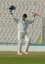 Daniel Manohar celebrates his eighth first-class hundred, Punjab v Hyderabad, Ranji Trophy Super League, Group B, 2nd round, 1st day, Mohali, November 15, 2007