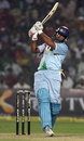 Yuvraj Singh pulls for a six over deep midwicket, India v Pakistan, 4th ODI, Gwalior, November 15, 2007