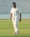 Birinder Singh picked up two wickets in Hyderabad's second innings, Punjab v Hyderabad, Ranji Super League, 2nd round, Mohali, 3rd day, November 17, 2007