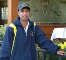 Punjab's Sarabjit Ladda finished with best figures of 4 for 30 in Hyderabad's second innings, Punjab v Hyderabad, Ranji Trophy Super League, 2nd round, Mohali, 4th day, November 18, 2007