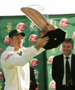 South Africa won the Test series 2-0, South Africa v New Zealand, 2nd Test, Centurion, 3rd day, November 18, 2007