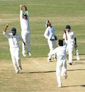 Yasin Arafat takes the wicket of Sylhet's Sharifullah, Chittagong v Sylhet, National Cricket League, Chittagong, November 19, 2007
