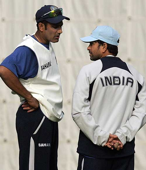 Anil Kumble - The New Test Captain for Team India in conversation with Sachin Tendulkar