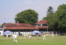 A general view of the action as England spend another day in the field, Sri Lanka Cricket Board President's XI v England XI, Colombo, November 21, 2007
