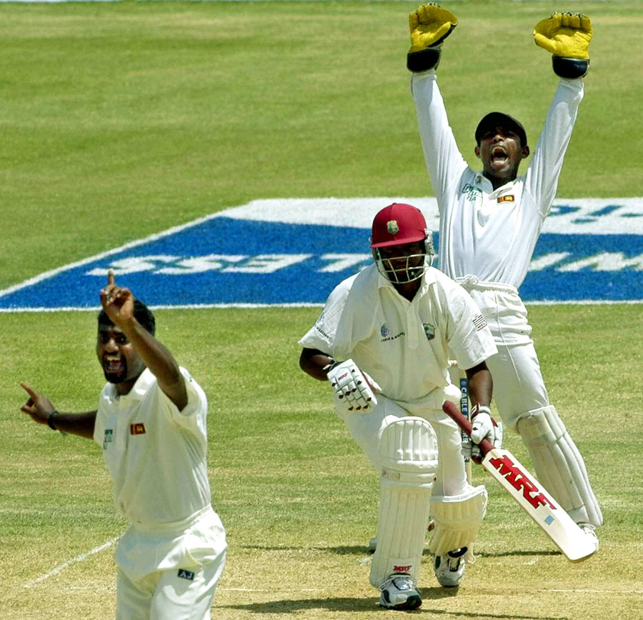 In eight Tests against a Sri Lanka side featuring Murali, between 1993 and 2003, Lara scored five hundreds and averaged 86.53