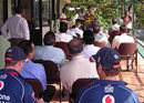 The new pavilion at the Nondescripts Cricket Club in Colombo is formally opened, Sri Lanka Cricket Board President's XI v England XI, Colombo, November 25, 2007