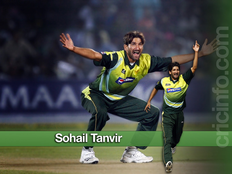 Sohail Tanvir Cricket Wallpapers Espncricinfocom