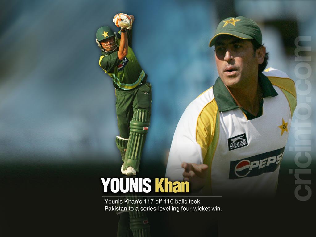 Younis Khan Cricket Wallpapers Espncricinfocom
