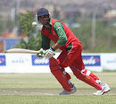Adnan Ilyas on his way to an eye-catching 113, Oman v UAE, World Cricket League Division Two, Windhoek, November 30, 2007