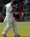 Rajasthan's Robin Bist is distraught at missing out on his century