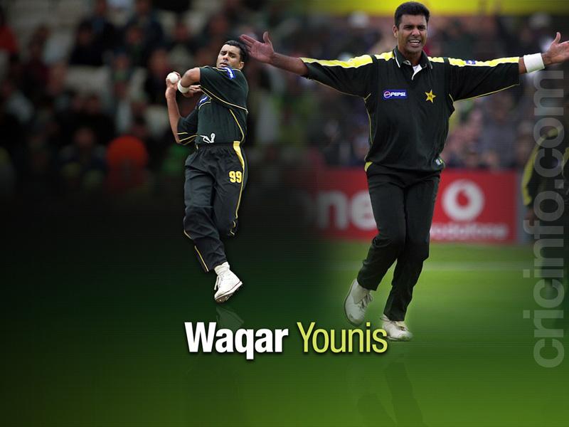 Waqar Younis Cricket Wallpapers Espncricinfocom