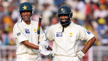 Younis Khan and Mohammad Yousuf ensured Pakistan drew the match