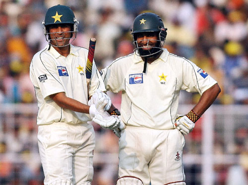 Younis Khan and Mohammad Yousuf reportedly being considered for Under-19 and coaching roles